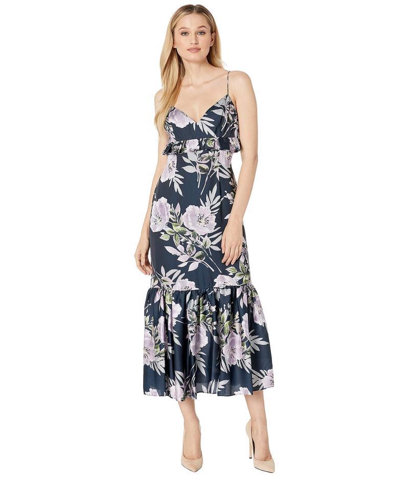 ジルスチュアート レディース ワンピース トップス Floral Printed Midi Dress Charlotte Print