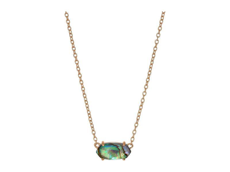 ケンドラスコット レディース レディース ネックレス・チョーカー・ペンダントトップ Necklace アクセサリー Ever Necklace Rose Rose Gold/Abalone Shell, オカドン:7f712103 --- idia-africa.com