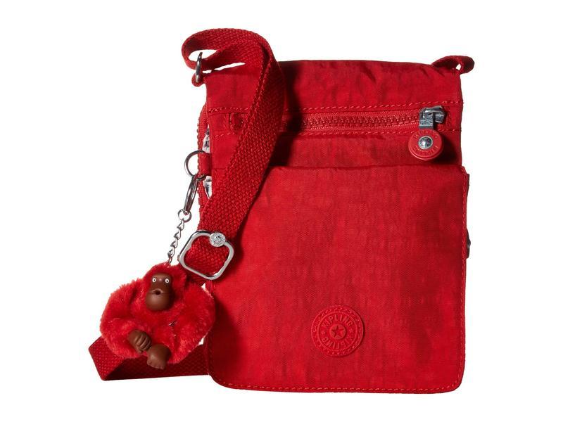 キプリング レディース ハンドバッグ バッグ Eldorado Small Crossbody Bag Cherry T