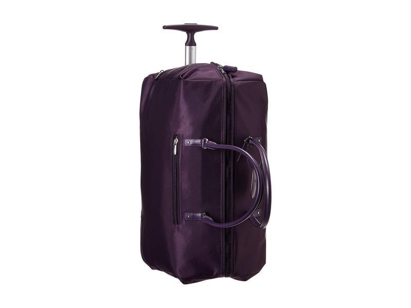 リパルトパリ レディース ボストンバッグ バッグ Lady Plume Wheeled Weekend Bag 2.0 Purple