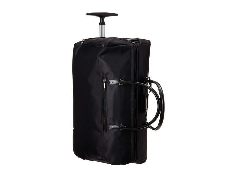 リパルトパリ レディース ボストンバッグ バッグ Lady Plume Wheeled Weekend Bag 2.0 Black