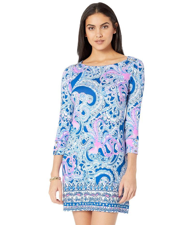 リリーピュリッツァー レディース ワンピース トップス UPF 50+ Sophie Dress Blue Grotto Legga Sea Engineered Sophie Dress