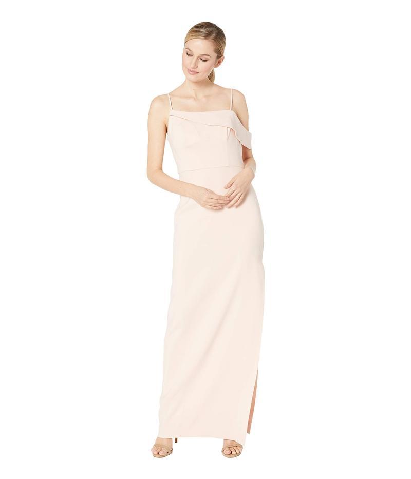 ランドリーバイシェリーシーガル レディース ワンピース トップス Asymmetrical Crepe Column Gown Blush