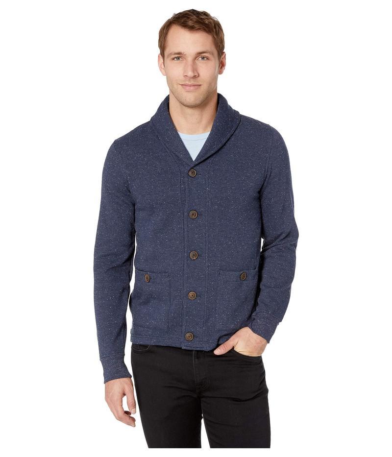 ラッキーブランド メンズ ニット・セーター アウター Shawl Cardigan Sweatshirt Navy