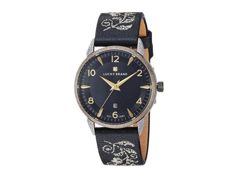 ラッキーブランド レディース 腕時計 アクセサリー Torrey Embroidered Leather Watch - LW00183 Gold