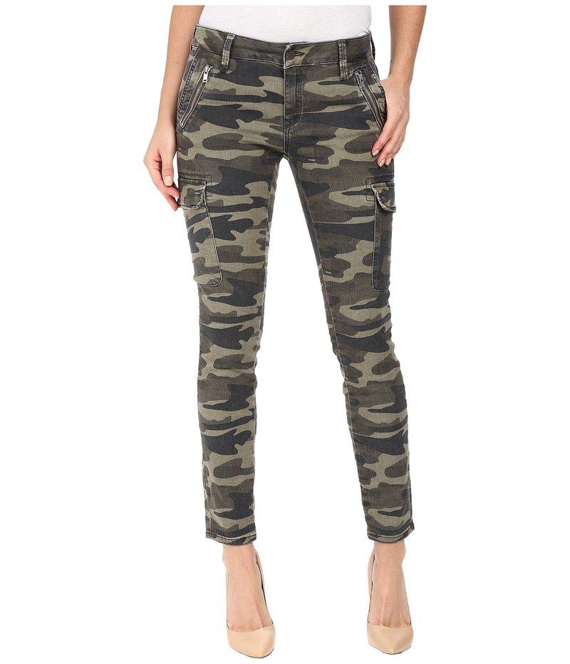 マーヴィ ジーンズ レディース カジュアルパンツ ボトムス Juliette Skinny Cargo in Military Camouflage Military Camouflage