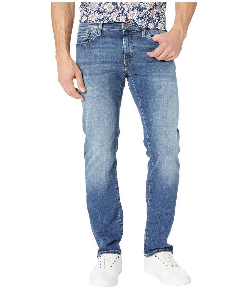 マーヴィ ジーンズ メンズ デニムパンツ ボトムス Zach Straight Leg in Mid Brushed Cashmere Mid Brushed Cashmere