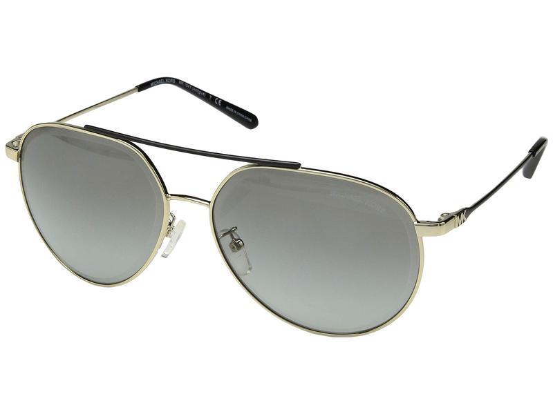 マイケルコース レディース サングラス・アイウェア アクセサリー 0MK1041 60mm Shiny Pale Gold/Light Grey Gradient