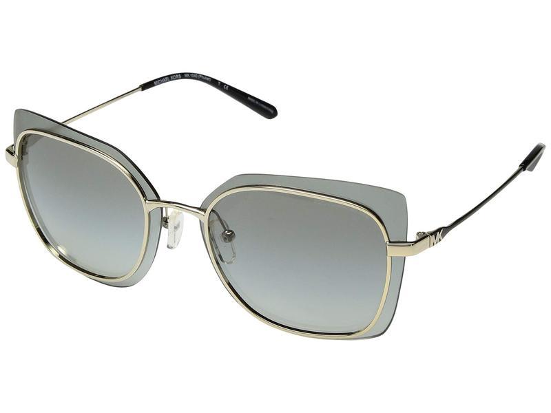 マイケルコース レディース サングラス・アイウェア アクセサリー 0MK1040 62mm Shiny Pale Gold/Light Grey Gradient