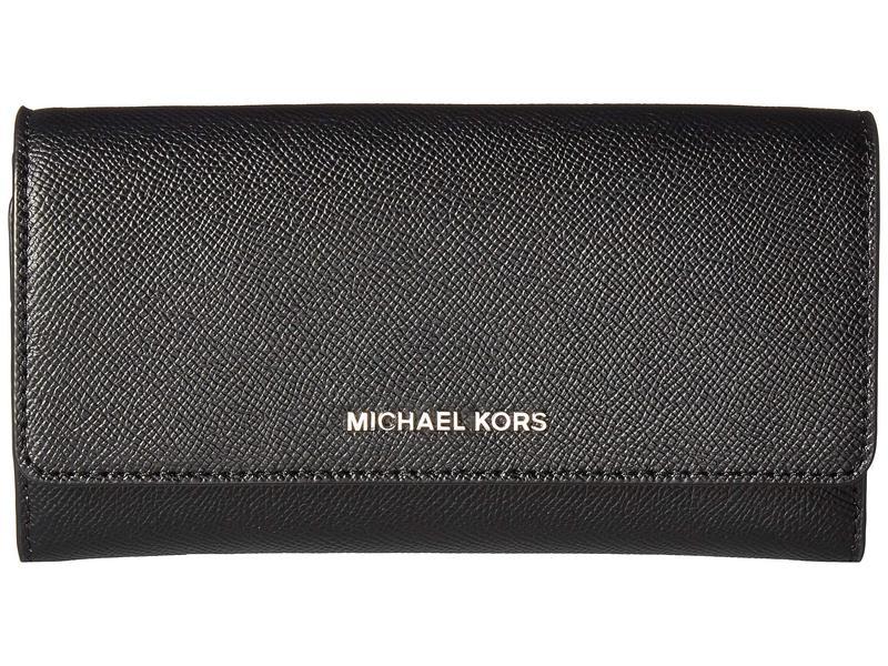 マイケルコース レディース ハンドバッグ バッグ Large Wallet on a Chain Black/Pearl Grey