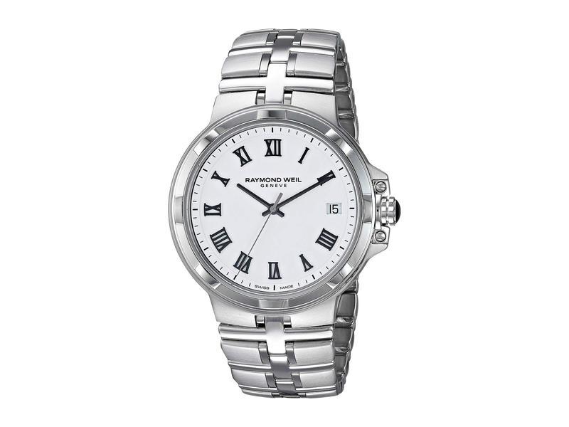 レイモンド ウィル メンズ 腕時計 アクセサリー Parsifal - 5580-ST-00300 Stainless Steel/White