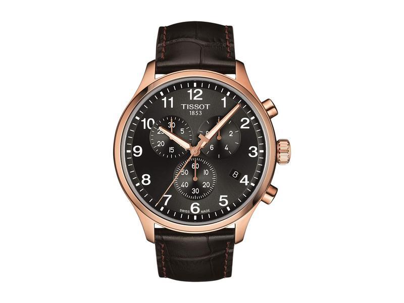 ティソット メンズ 腕時計 アクセサリー Chrono XL - T1166173605701 Black