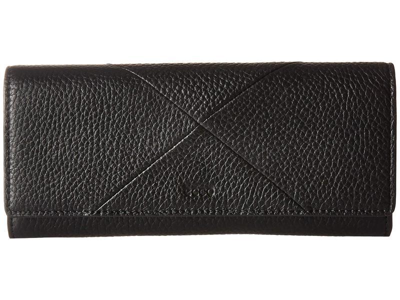 エコー レディース 財布 アクセサリー Linnea Continental Wallet Black