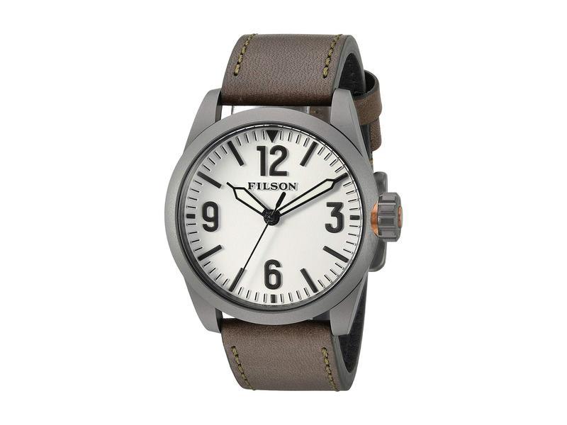 フィルソン メンズ 腕時計 アクセサリー Filson Field Watch 41mm White