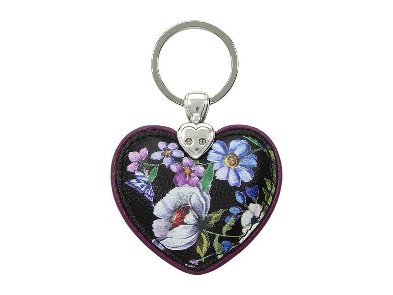 ブライトン レディース キーケース・キーリング アクセサリー Noir Jardin Heart Key Fob Multi