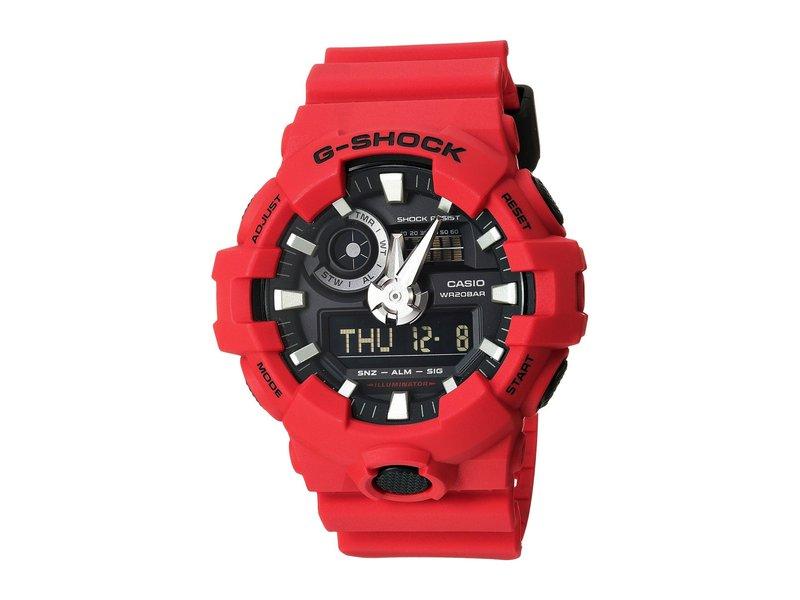 ジーショック メンズ 腕時計 アクセサリー GA-700 Red