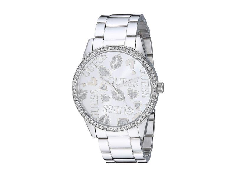 ゲス レディース 腕時計 アクセサリー U1205L1 Silver