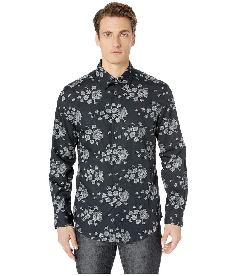 ジョンバルベイトス メンズ シャツ トップス Slim Fit Shirt with Split Yoke W194U4 Black