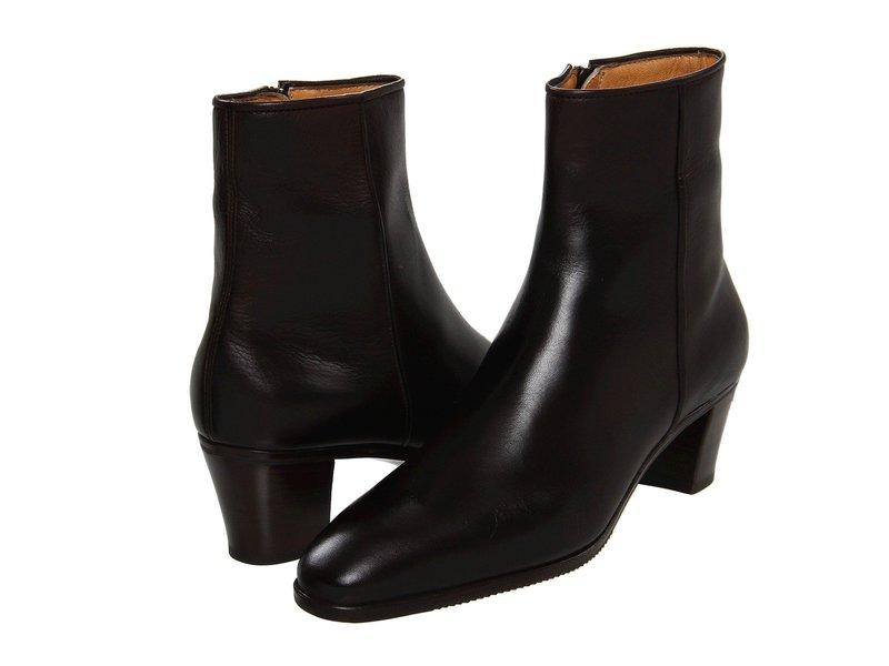 グラベティ レディース ブーツ・レインブーツ シューズ Leather Ankle Boot Black