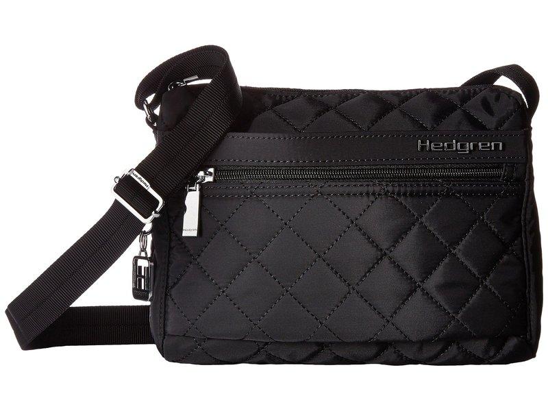 ヘドグレン レディース ハンドバッグ バッグ Diamond Carina Shoulder Bag Black