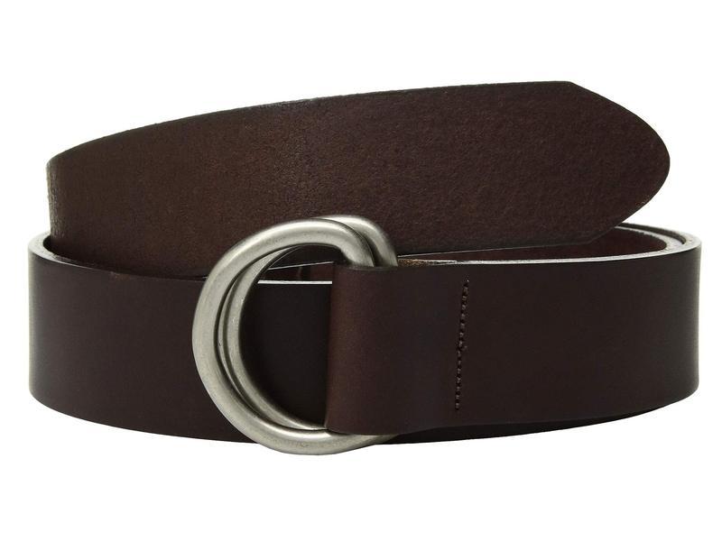 マウンテンカーキス メンズ ベルト アクセサリー Leather D-Ring Belt Brown