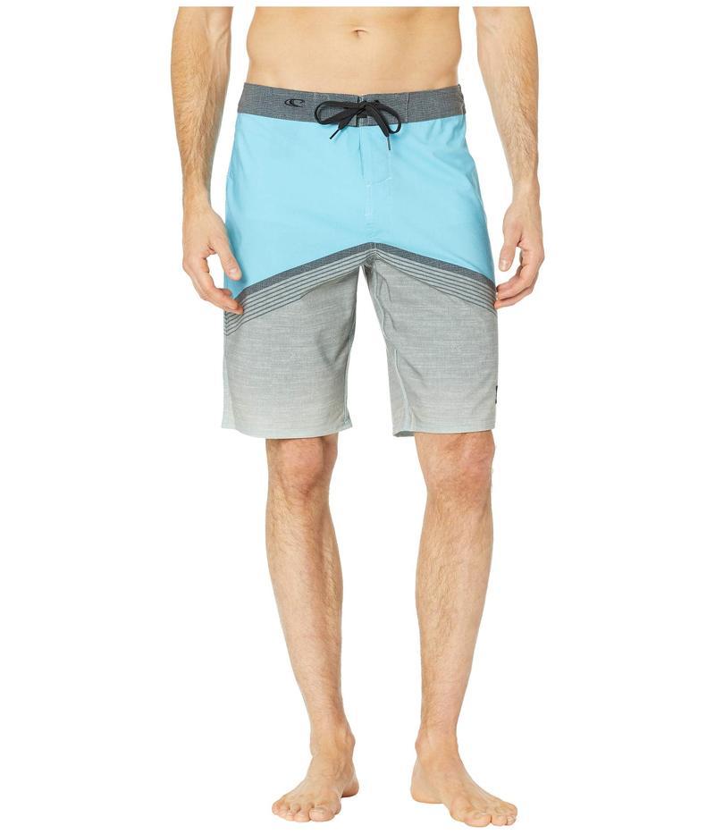 オニール メンズ ハーフパンツ・ショーツ 水着 Cooper Boardshorts Cyan Blue
