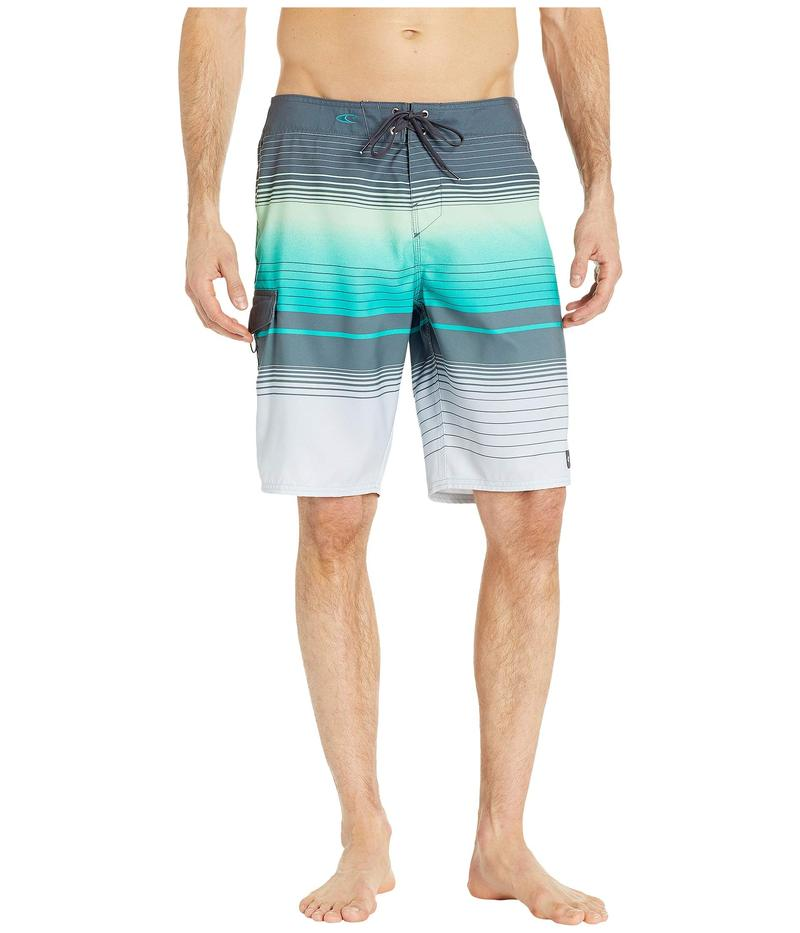 オニール メンズ ハーフパンツ・ショーツ 水着 Lennox Boardshorts Aqua