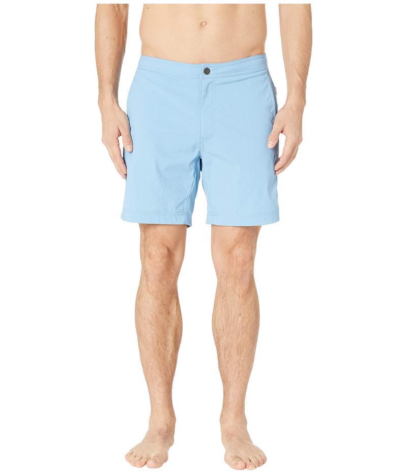 オニア メンズ ハーフパンツ・ショーツ 水着 Calder 7.5 Swim Shorts Vintage Blue