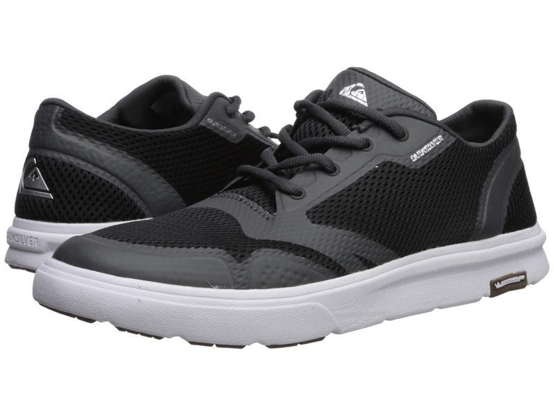 クイックシルバー メンズ スニーカー シューズ Amphibian Plus Black/Grey/White 2