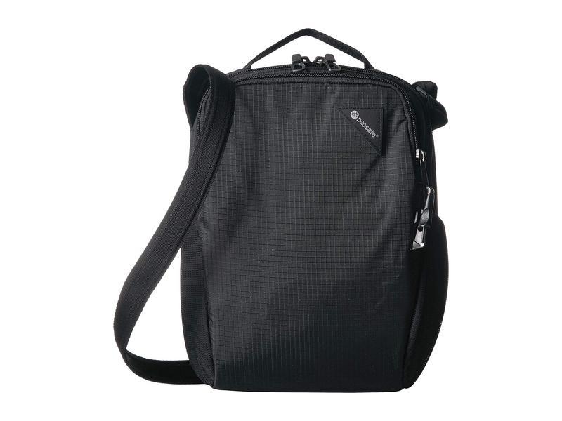 パックセーフ メンズ ボストンバッグ バッグ Vibe 200 Anti-Theft Compact Travel Bag Jet Black