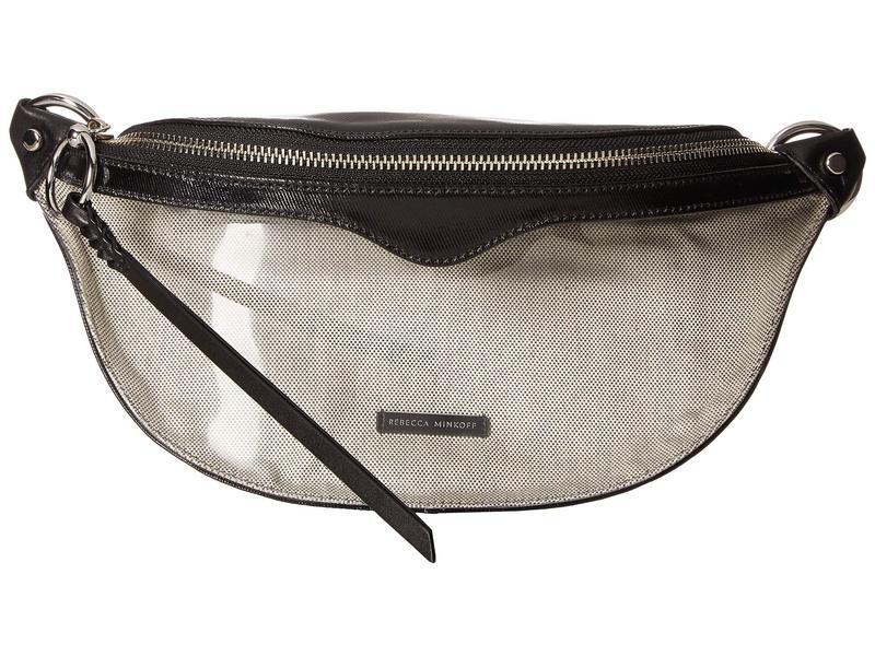 レベッカミンコフ レディース ボディバッグ・ウエストポーチ バッグ Bree Belt Bag Black 2