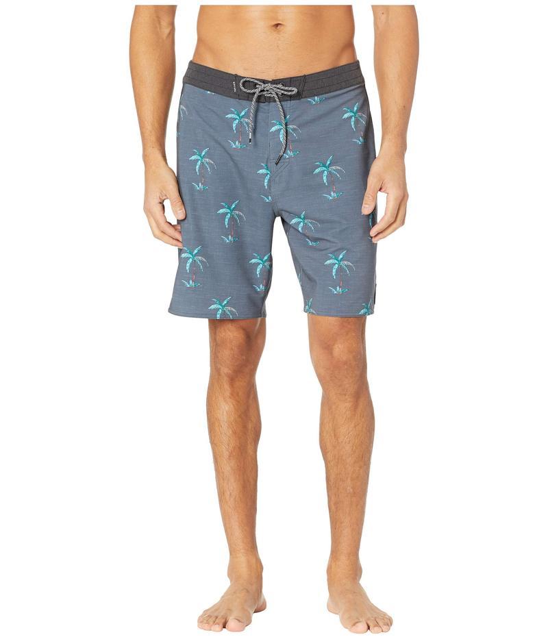 リップカール メンズ ハーフパンツ・ショーツ 水着 Mirage Palm Point Boardshorts Black
