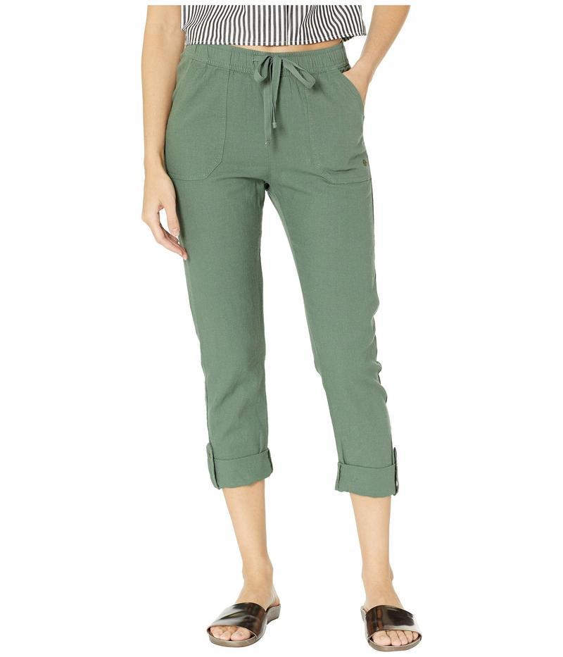 ロキシー レディース カジュアルパンツ ボトムス Symphony Lover Pants Duck Green
