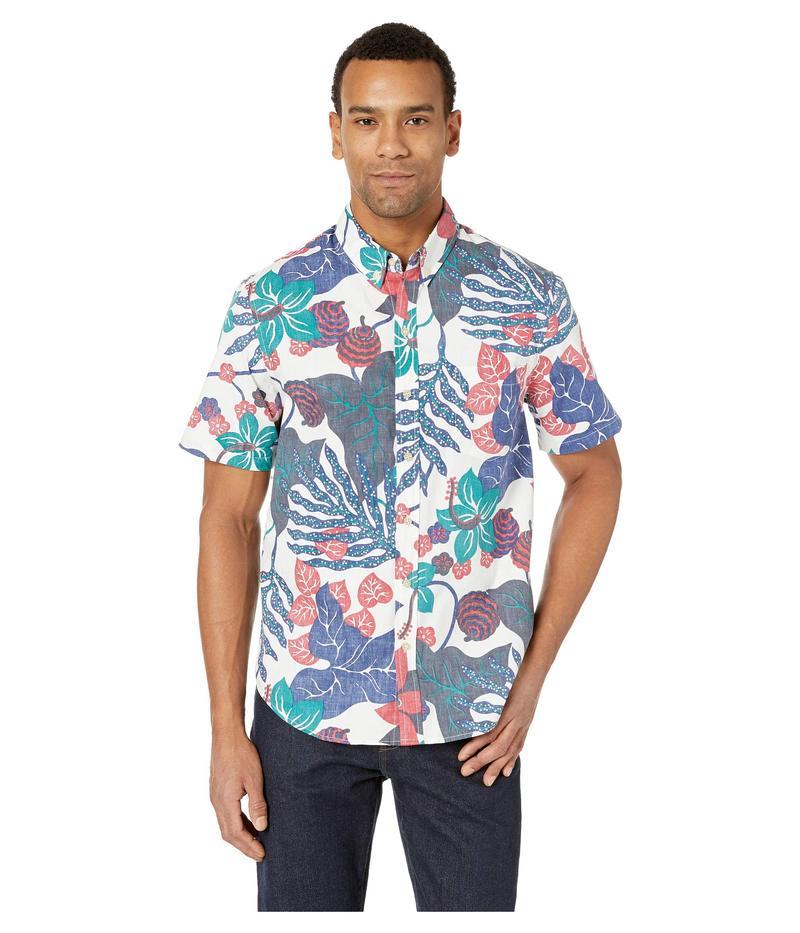 レインスプーナー メンズ シャツ トップス San Clemente Tailored Fit Hawaiian Shirt Coconut Milk