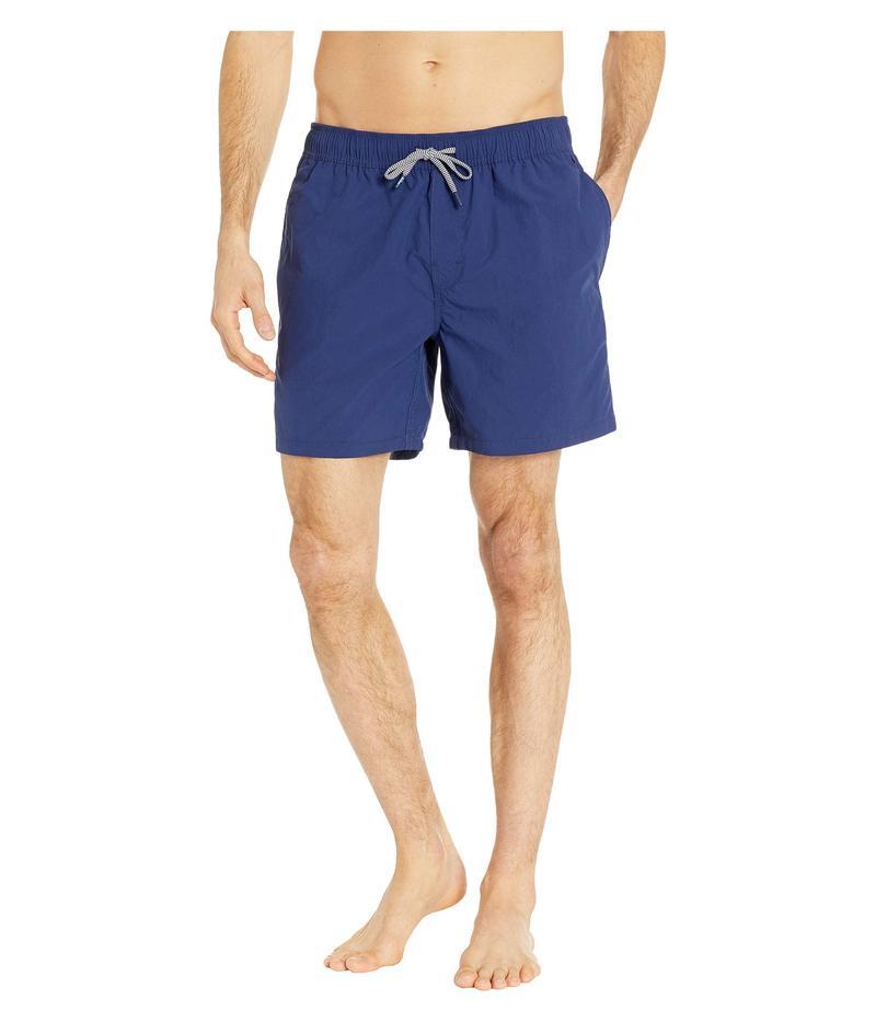 レインスプーナー メンズ ハーフパンツ・ショーツ 水着 Stretch Solid Swim Trunks Medieval Blue