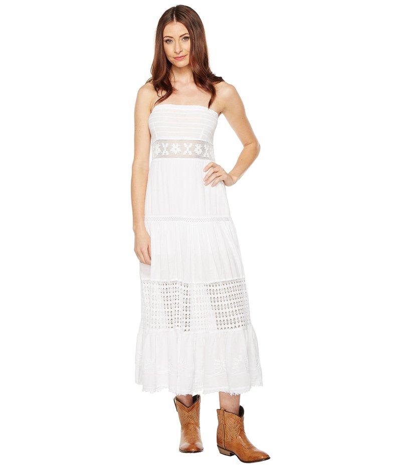 スカーリー レディース ワンピース トップス Cantina Party Time Tube Dress White