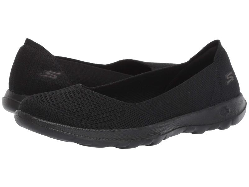 スケッチャーズ レディース スニーカー シューズ Go Walk Lite - 15389 Black