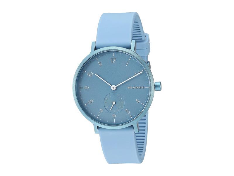 スカーゲン レディース 腕時計 アクセサリー Aaren Aluminum Bold - SKW2764 Blue