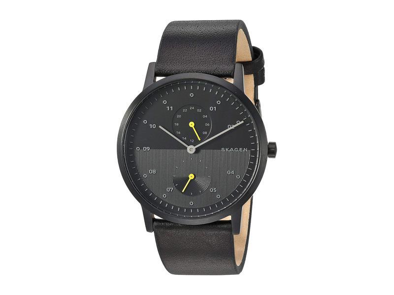 スカーゲン メンズ 腕時計 アクセサリー Kristoffer Multifunction - SKW6499 Black