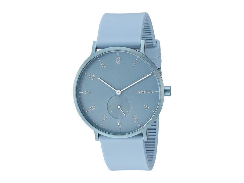 スカーゲン メンズ 腕時計 アクセサリー Aaren Aluminum Bold - SKW6509 Blue