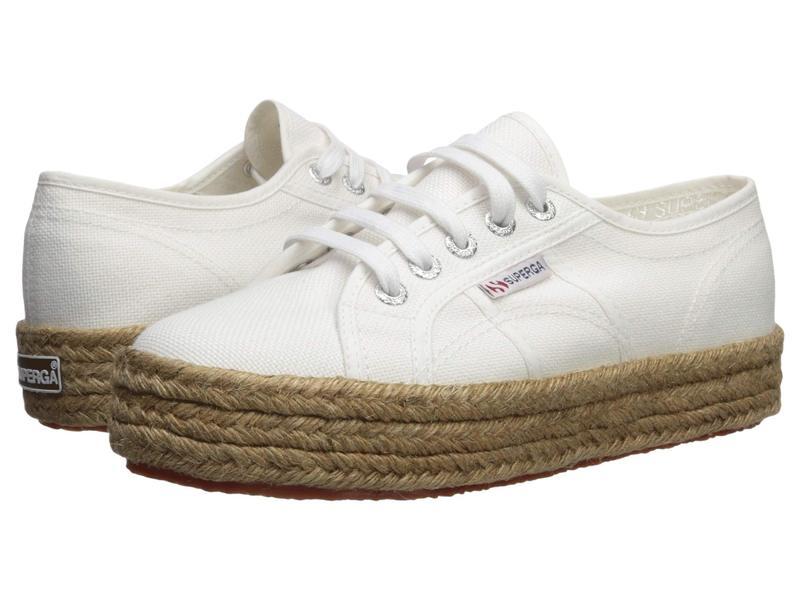 スペルガ レディース スニーカー シューズ 2730 Cotropew White