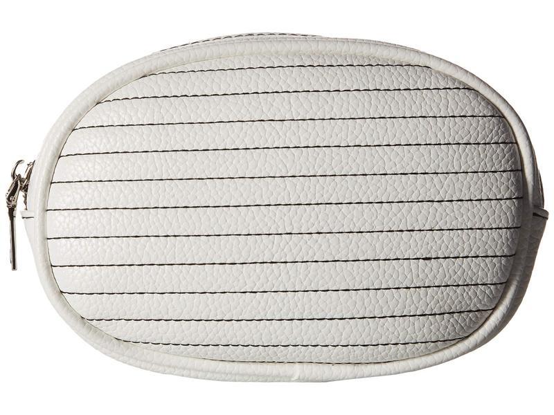 スティーブ マデン レディース ボディバッグ・ウエストポーチ バッグ Adjustable Web Strap Belt Bag White