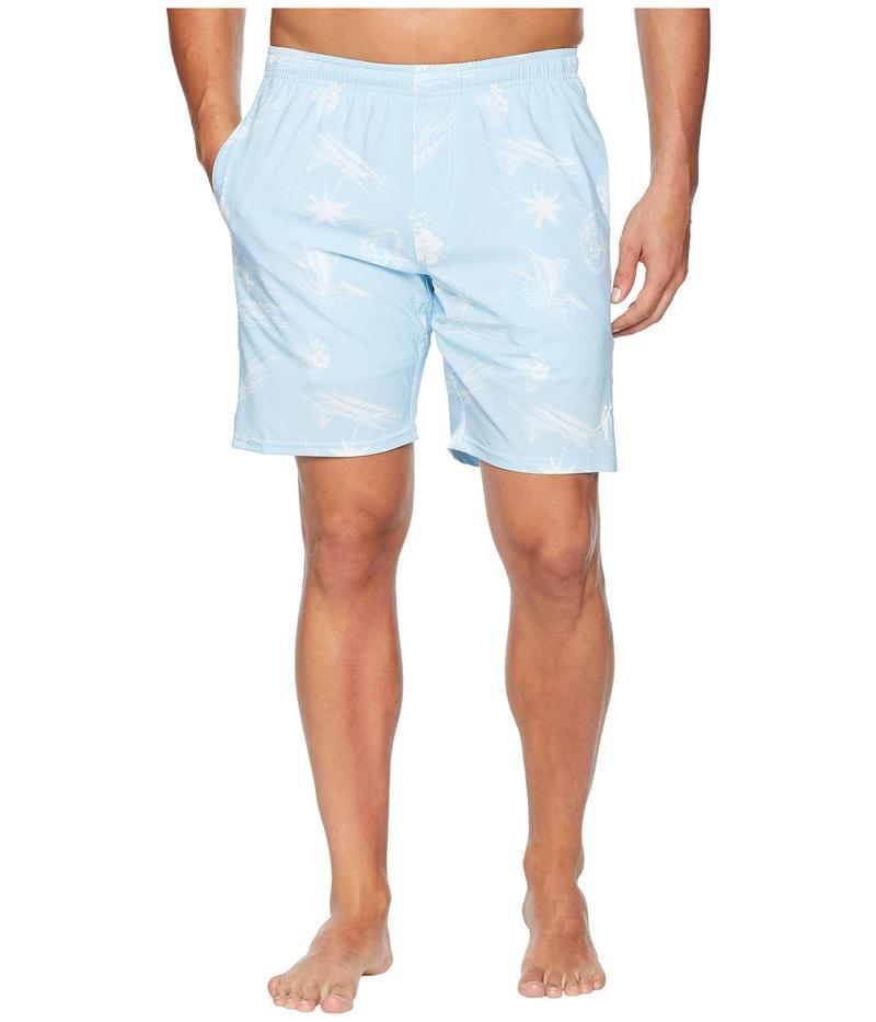 トゥーオンザノーズ メンズ ハーフパンツ・ショーツ 水着 Aloha Cruisin Volley Cool Water