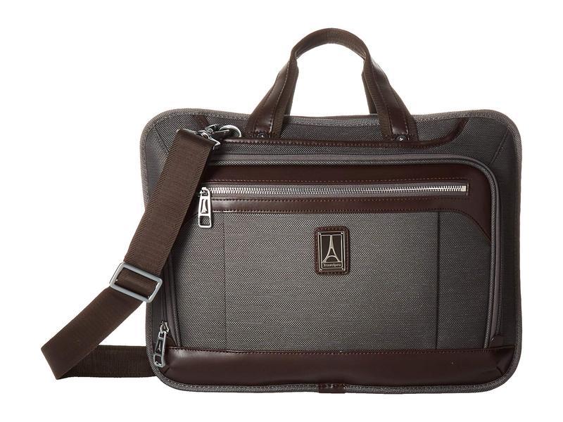 トラベルプロ メンズ ビジネス系 バッグ Platinum Elite - Expandable Business Brief Vintage Grey