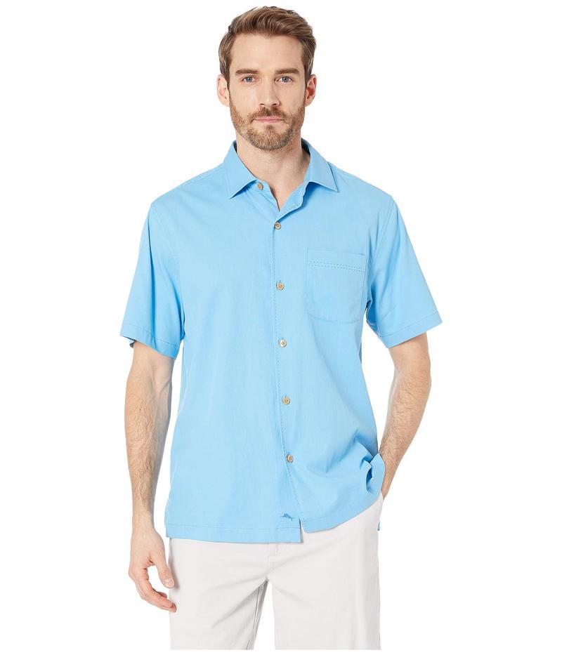 トッミーバハマ メンズ シャツ トップス Catalina Stretch Twill Shirt Beach Hut Blue