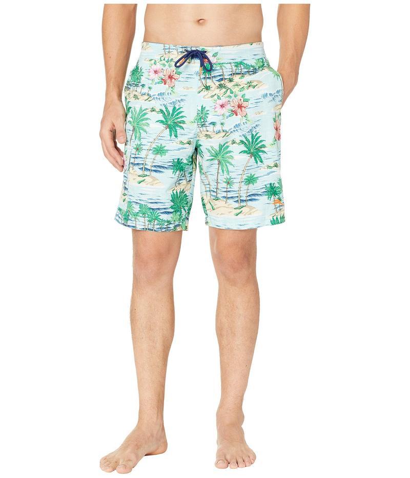 トッミーバハマ メンズ ハーフパンツ・ショーツ 水着 Baja Aloha Surf Boardshorts Blue Swell