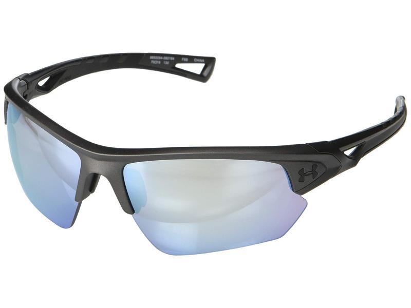 アンダーアーマー メンズ サングラス・アイウェア アクセサリー UA Octane Satin Carbon/Black Frame/Baseball Tuned Lens