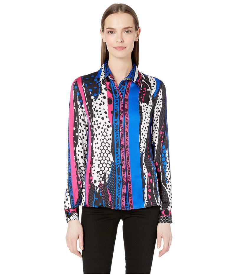 ヴェルサス ヴェルサーチ レディース シャツ トップス Abstract Print Shirt Multicolor