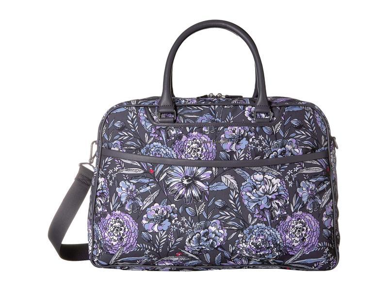 ベラブラッドリー レディース ボストンバッグ バッグ Iconic Lay Flat Weekender Bag Lavender Bouquet