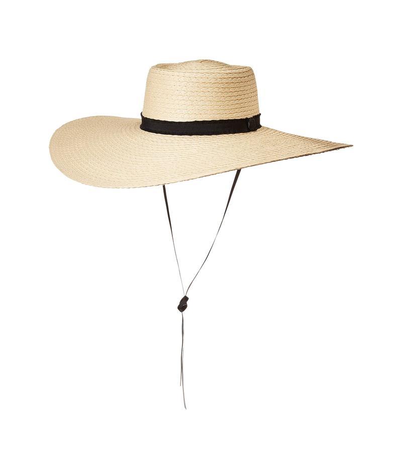 ヴィンスカムート レディース 帽子 アクセサリー Wide Brim Straw Gaucho Natural